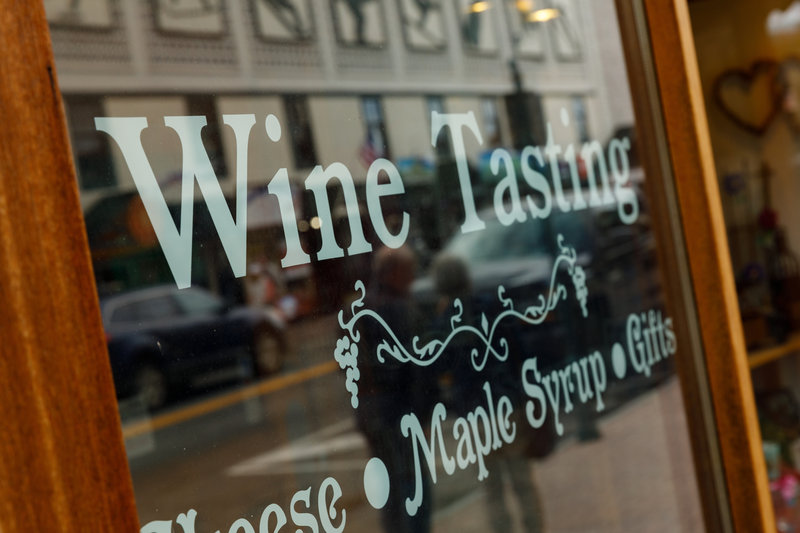 Crowne Plaza Lake Placid-Enjoy local wine tastings in downtown Lake Placid!<br/>Image from Leonardo