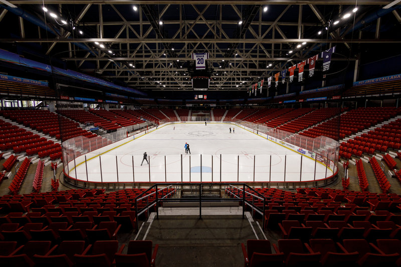 Crowne Plaza Lake Placid-Herb Brooks Arena at the Olympic Center<br/>Image from Leonardo