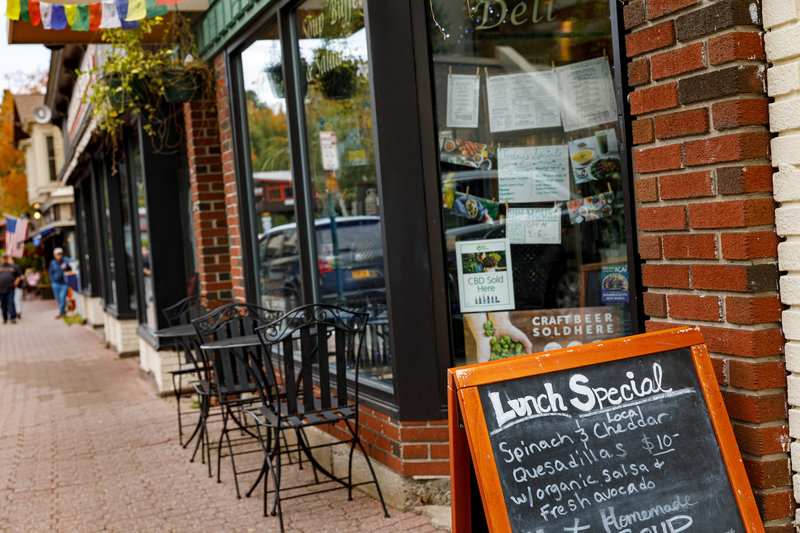 Crowne Plaza Lake Placid-Enjoy the local restaurants of Lake Placid<br/>Image from Leonardo