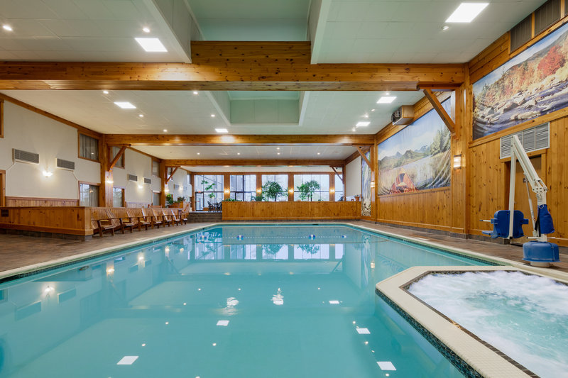 Crowne Plaza Lake Placid-Start the day with a lap in our indoor pool<br/>Image from Leonardo
