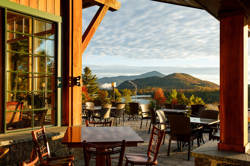 Crowne Plaza Lake Placid-Dine al fresco on our outdoor patio<br/>Image from Leonardo