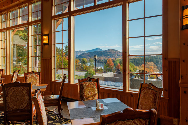 Crowne Plaza Lake Placid-Spectacular mountain views from our Adirondack Great Room<br/>Image from Leonardo