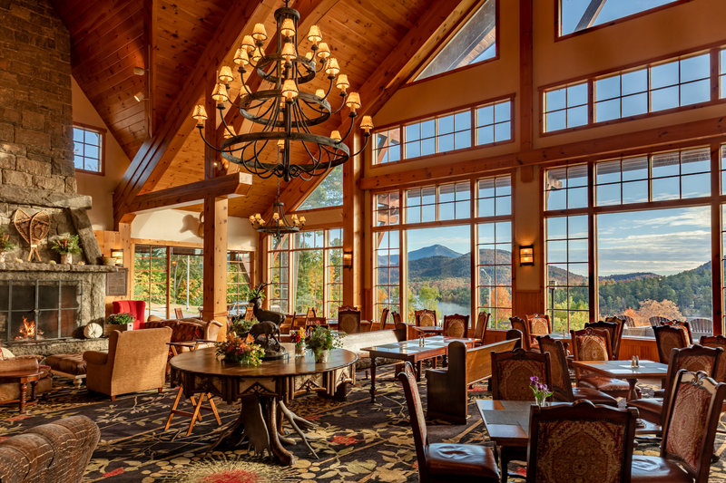 Crowne Plaza Lake Placid-Rustic charm awaits in our Adirondack Great Room<br/>Image from Leonardo