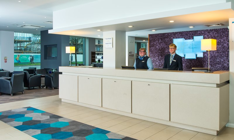 Holiday Inn Express Lincoln City Centre-A warm welcome awaits at our Lincoln city centre hotel <br/>Image from Leonardo