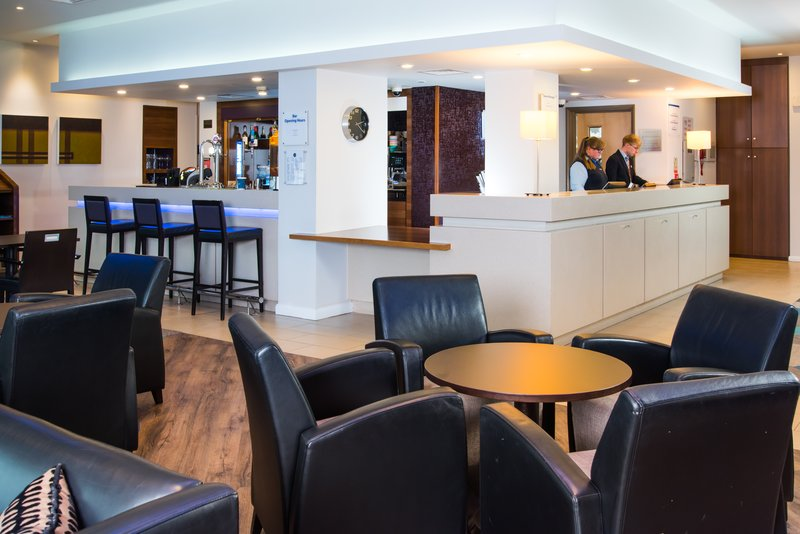 Holiday Inn Express Lincoln City Centre-Long day? Relax in the lounge with a refreshing drink from the bar<br/>Image from Leonardo