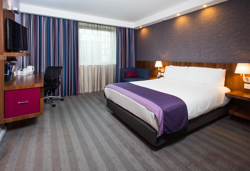 Holiday Inn Express Lincoln City Centre-Busy day in Lincoln? Unwind in your comfy room with free Wi-Fi<br/>Image from Leonardo