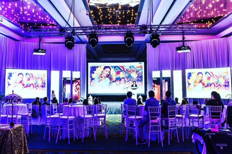 Renaissance Aruba Resort & Casino - Renaissance Convention Center - Function Setup <br/>Image from Leonardo