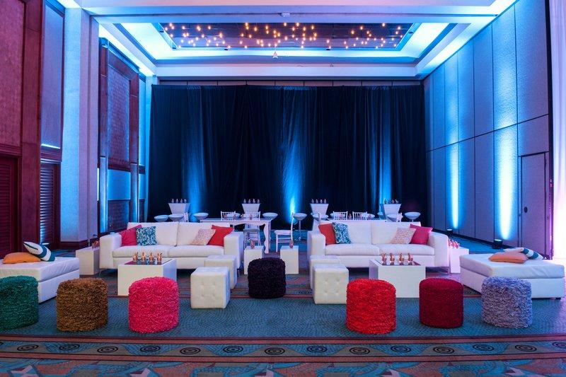 Renaissance Aruba Resort & Casino - Renaissance Convention Center - Lounge Setup <br/>Image from Leonardo