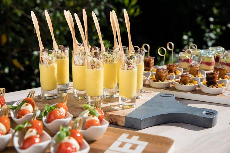 Renaissance Aruba Resort & Casino - Renaissance Island - Buffet Set Up <br/>Image from Leonardo