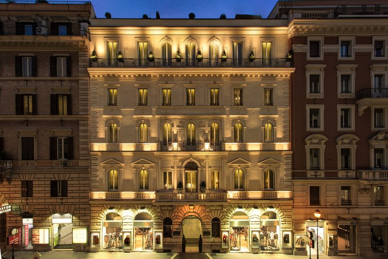 Artemide Hotel-Exterior View<br/>Image from Leonardo