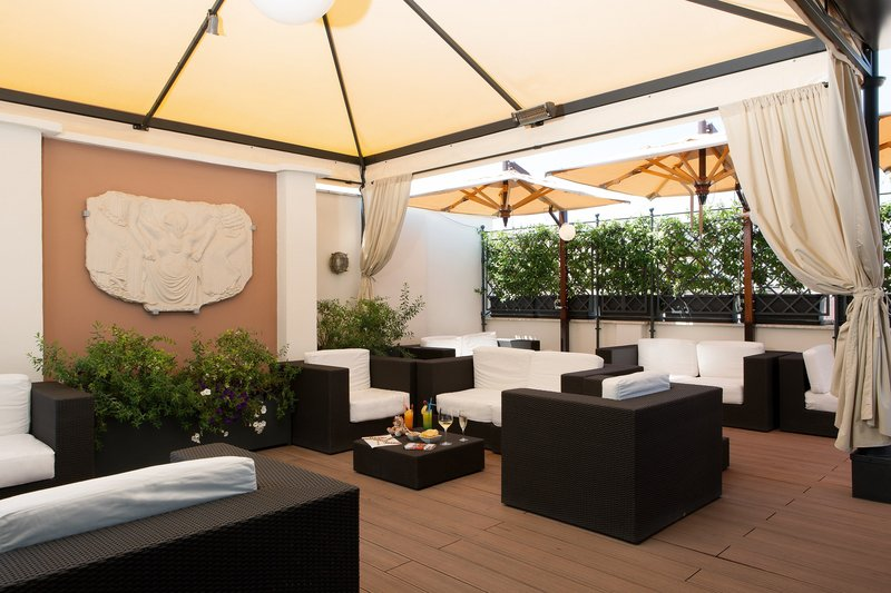 Artemide Hotel-Ambrosia Bar Outdoor<br/>Image from Leonardo