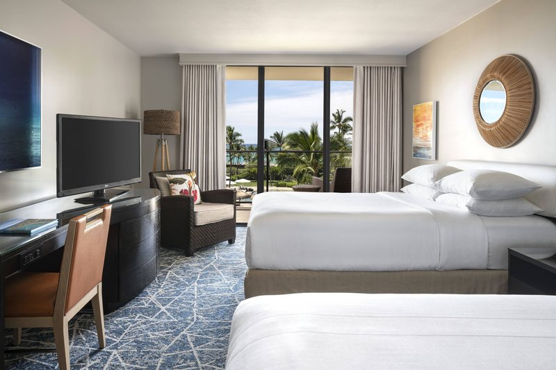 Waikoloa Beach Marriott - Double/Double Oceanfront Guest Room <br/>Image from Leonardo