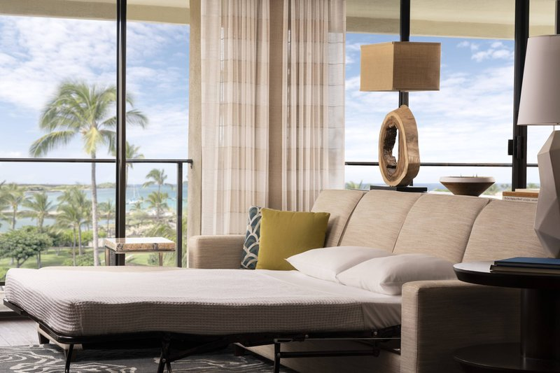 Waikoloa Beach Marriott - Kukui Ocean View Suite - Sofa Bed <br/>Image from Leonardo