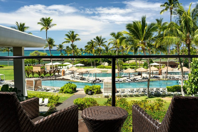 Waikoloa Beach Marriott - Ocean View Junior Suite - View <br/>Image from Leonardo