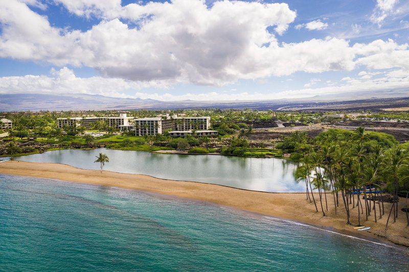 Waikoloa Beach Marriott - Aerial View <br/>Image from Leonardo