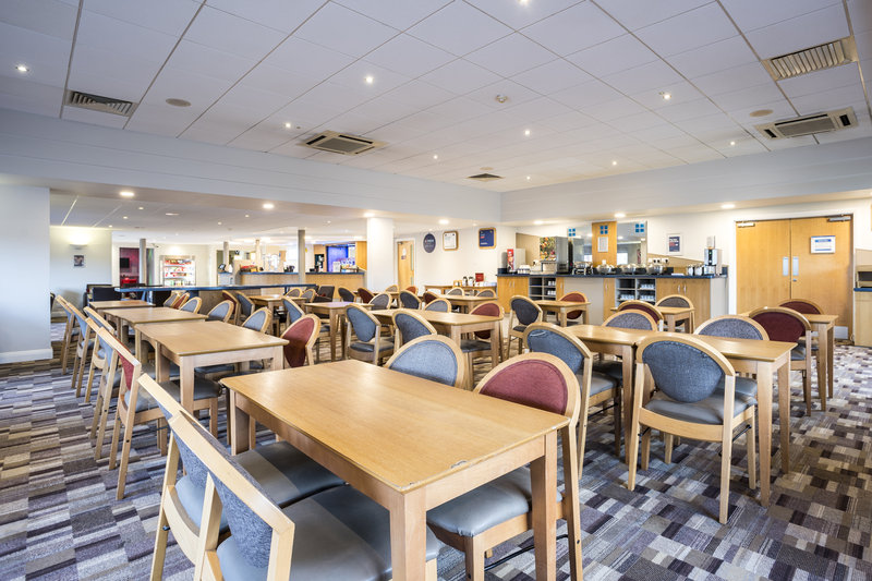 Holiday Inn Express Stafford M6 Jct 13-Gather with the family in our open-plan Great Room for breakfast<br/>Image from Leonardo