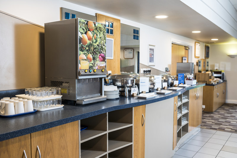 Holiday Inn Express Stafford M6 Jct 13-Tuck into a selection of hot/cold items at our breakfast area<br/>Image from Leonardo
