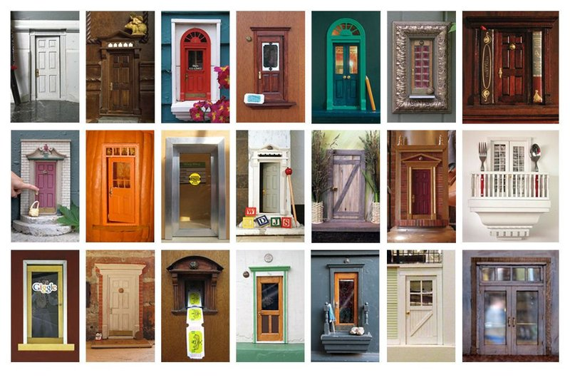 Holiday Inn Express & Suites Ann Arbor-Urban Fairy Doors of Ann Arbor<br/>Image from Leonardo