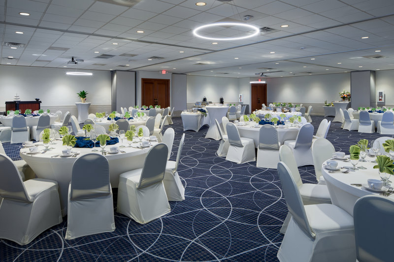 Holiday Inn Hotel & Suites Charleston West-Our Conference Center can cater events for up to 250!<br/>Image from Leonardo