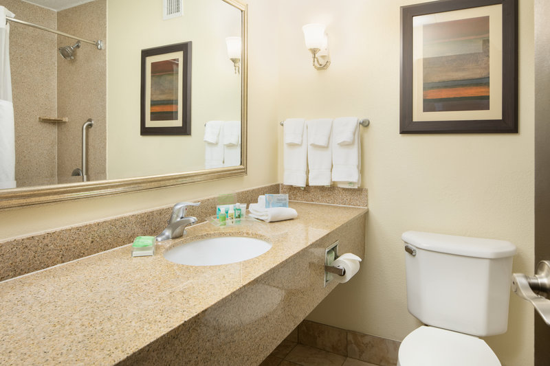 Holiday Inn Hotel & Suites Charleston West-Guests enjoy the refreshing bath amenities we provide in each room<br/>Image from Leonardo