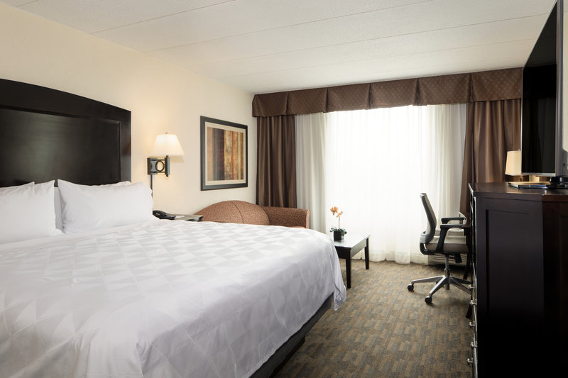 Holiday Inn Hotel & Suites Charleston West-Stretch out and relax in our king-bedded rooms! <br/>Image from Leonardo