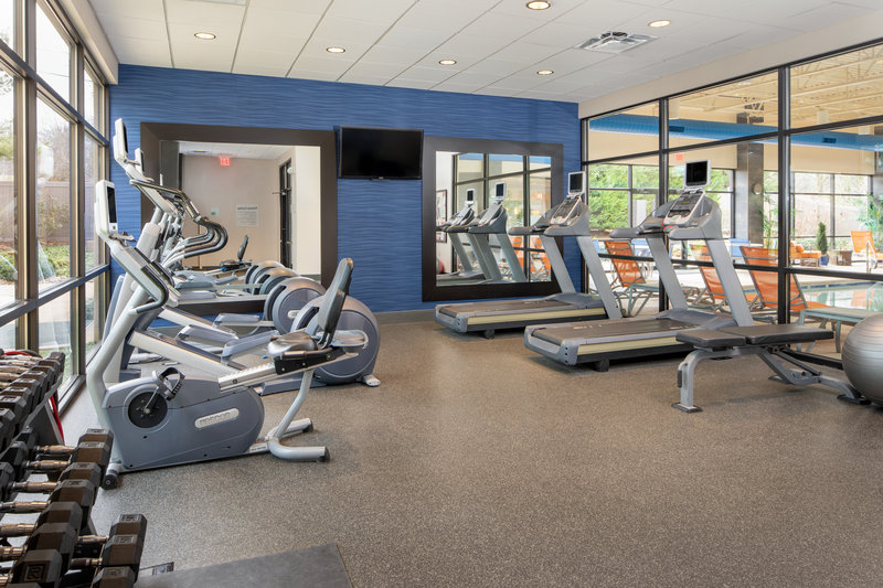 Holiday Inn Hotel & Suites Charleston West-Whether strength training or cardio, our fitness center has it!<br/>Image from Leonardo