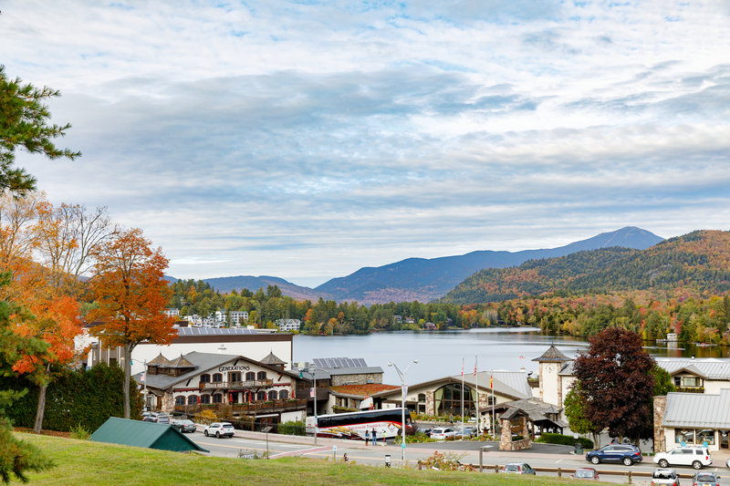 Crowne Plaza Lake Placid-The hotel is just a short walk to Main Street<br/>Image from Leonardo