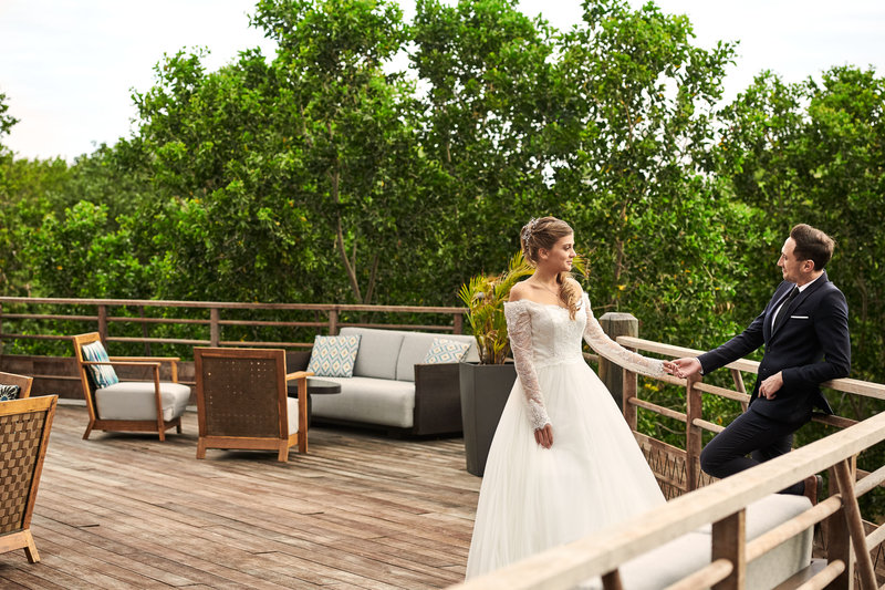 Sheraton New Caledonia Deva Spa And Golf Resort-Wedding Reception On The Nera Terrace<br/>Image from Leonardo