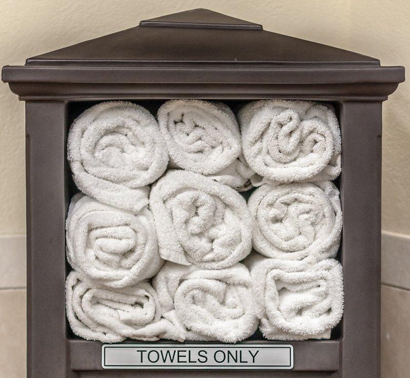 Best Western Wichita North-Pool Towels<br/>Image from Leonardo