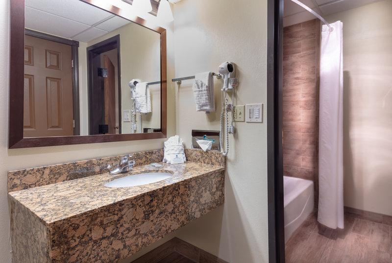 Best Western Wichita North-Guest Bathroom<br/>Image from Leonardo