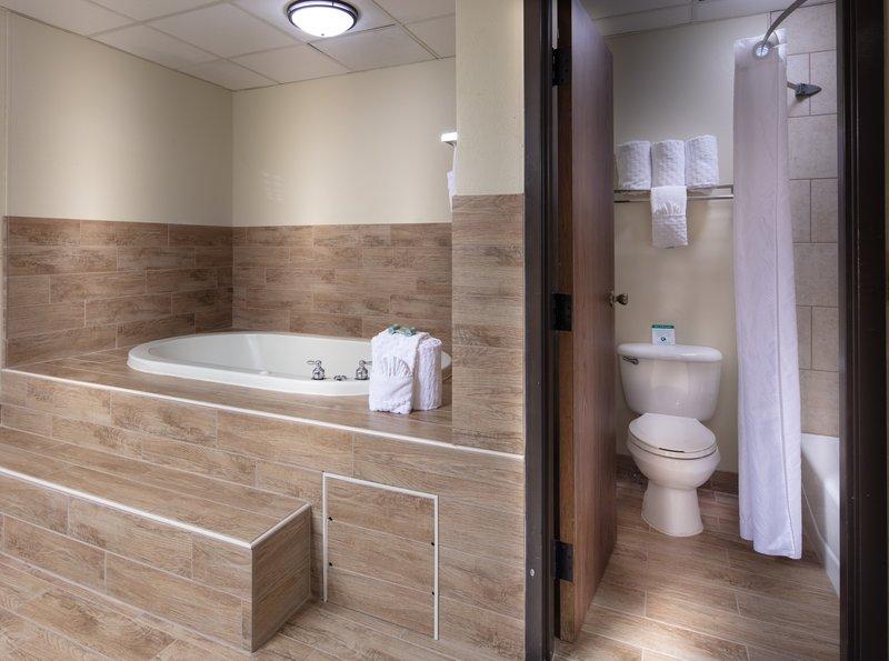 Best Western Wichita North-Spa Bath in Guest Room<br/>Image from Leonardo