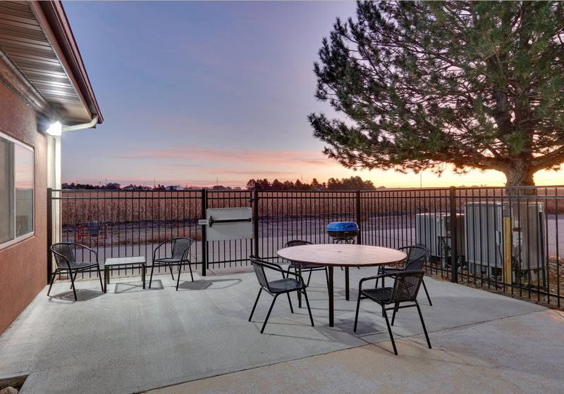 Holiday Inn Express & Suites Scottsbluff-Gering-Guest Patio<br/>Image from Leonardo
