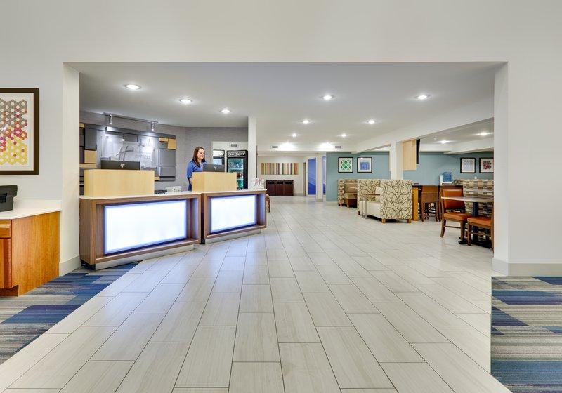 Holiday Inn Express & Suites Scottsbluff-Gering-Hotel Lobby<br/>Image from Leonardo