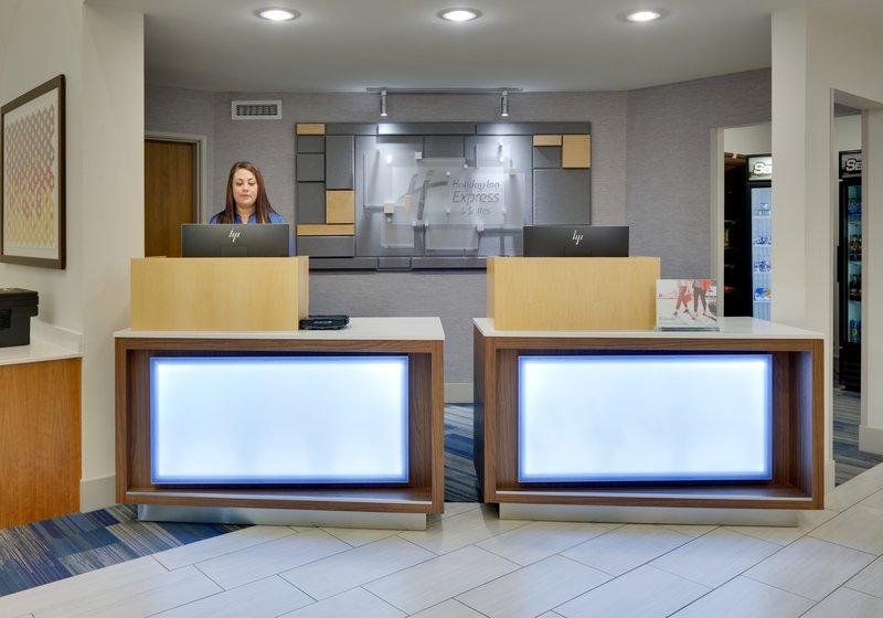 Holiday Inn Express & Suites Scottsbluff-Gering-Front Desk<br/>Image from Leonardo