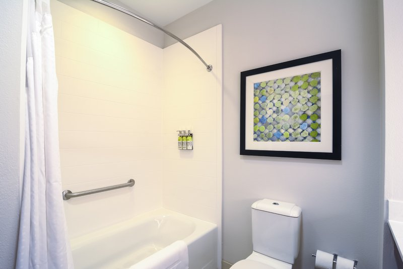Holiday Inn Express & Suites Tampa USF Busch Gardens-Guest Bathroom<br/>Image from Leonardo
