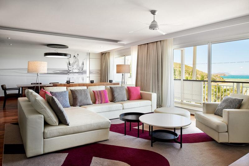 Le Meridien Noumea Resort & Spa-Presidential Suite - Lounge<br/>Image from Leonardo