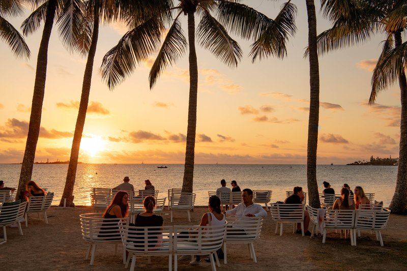 Le Meridien Noumea Resort & Spa-Le Fare Sunset<br/>Image from Leonardo