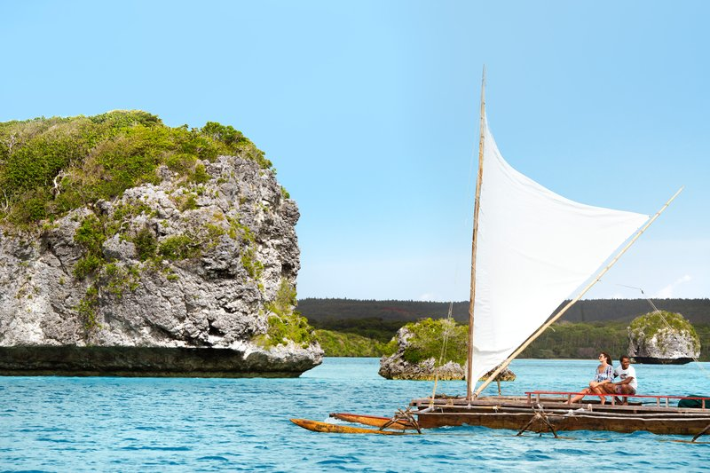 Le Meridien Ile Des Pins-Traditional Outrigger Canoe Trip<br/>Image from Leonardo