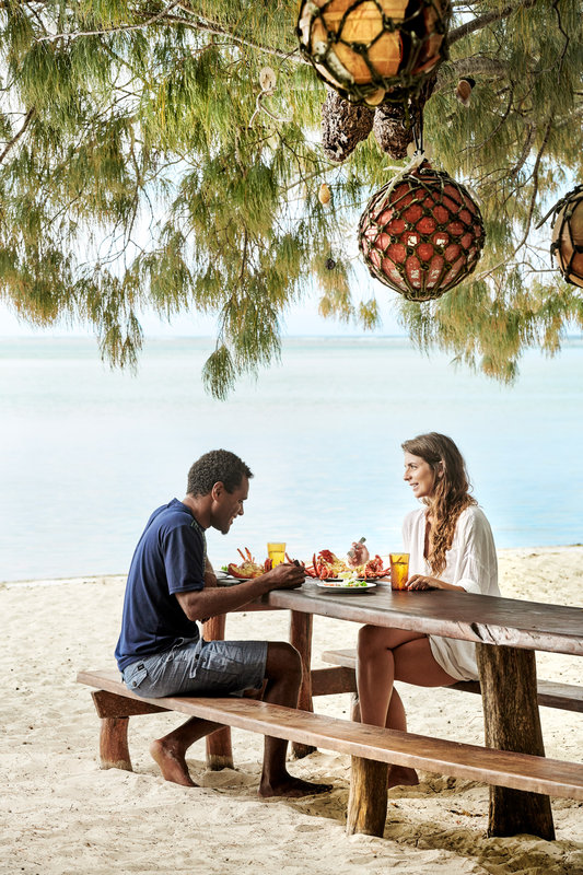 Le Meridien Ile Des Pins-Grilled Lobster On The Beach At Kougny<br/>Image from Leonardo