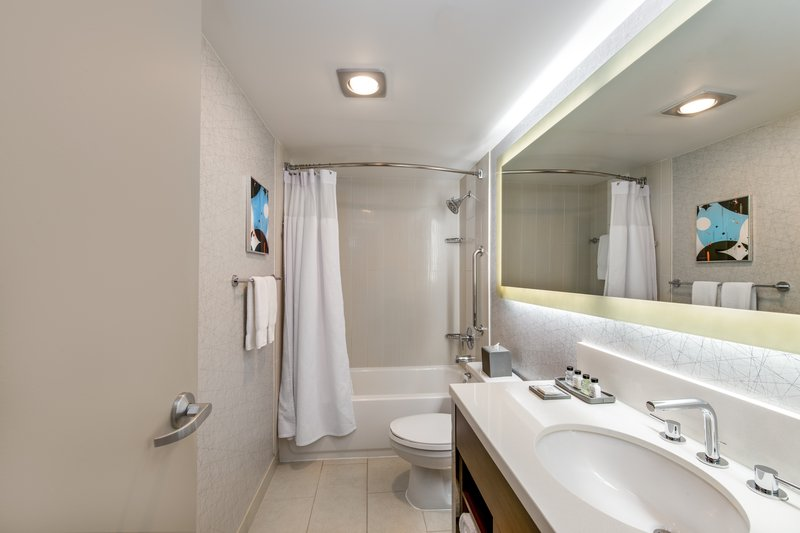Crowne Plaza Seattle-Downtown-Private Guest Bathroom<br/>Image from Leonardo