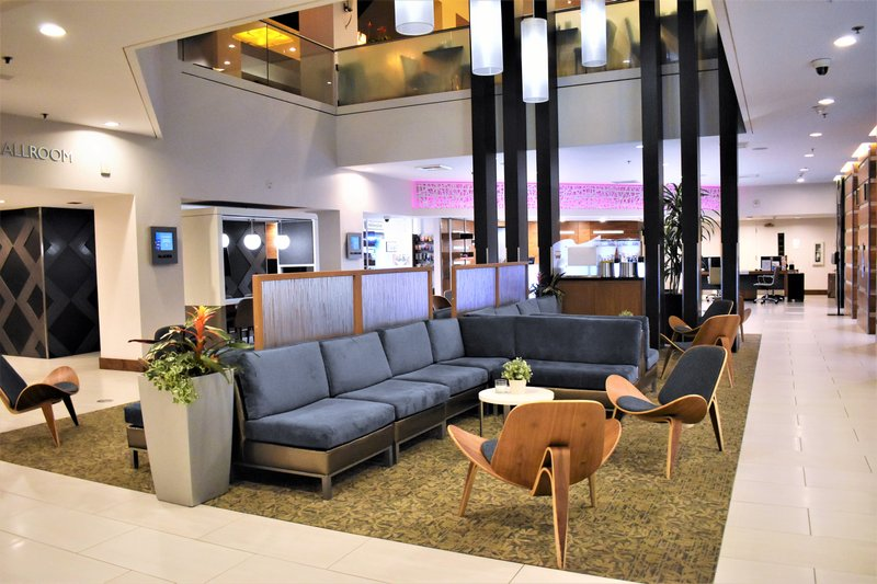 Crowne Plaza Seattle-Downtown-Relax in our spacious lobby after exploring downtown Seattle.<br/>Image from Leonardo
