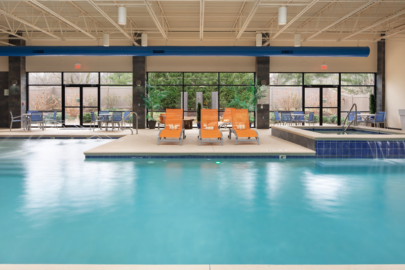 Holiday Inn Hotel & Suites Charleston West-The indoor saltwater pool and spa is perfect, rain or shine! <br/>Image from Leonardo