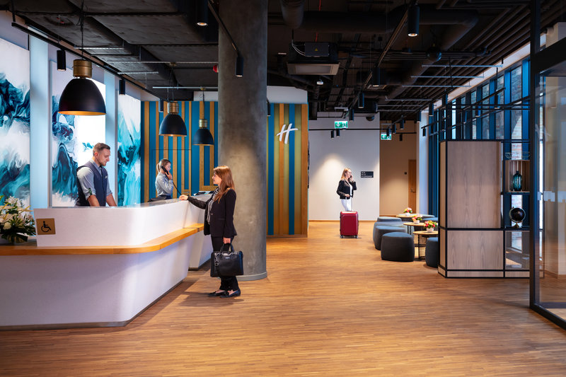 Holiday Inn Gdansk City Centre-Front Desk<br/>Image from Leonardo