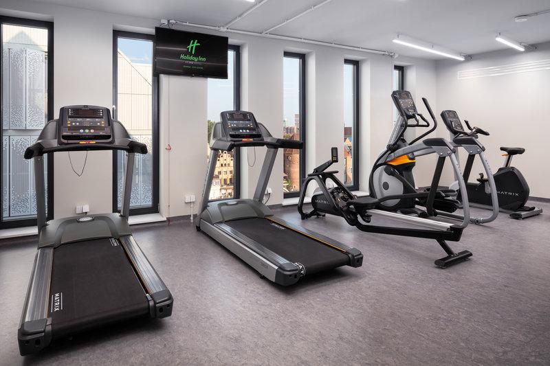 Holiday Inn Gdansk City Centre-Fitness Center<br/>Image from Leonardo