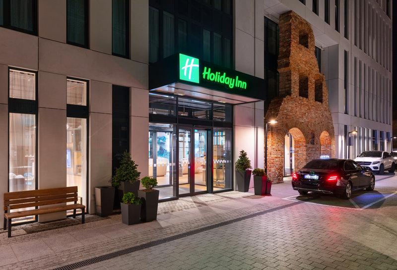 Holiday Inn Gdansk City Centre-Entrance<br/>Image from Leonardo