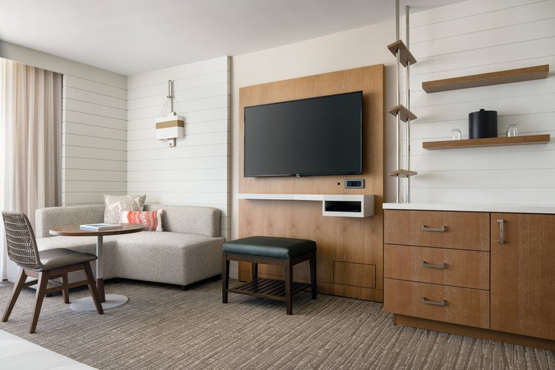 Waikiki Beach Marriott Resort  - Guest Room - Living Area <br/>Image from Leonardo