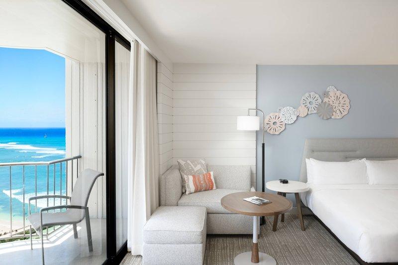 Waikiki Beach Marriott Resort  - King Premium Guest Room - Ocean View <br/>Image from Leonardo
