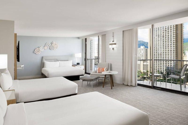 Waikiki Beach Marriott Resort  - Junior Suite - City View <br/>Image from Leonardo