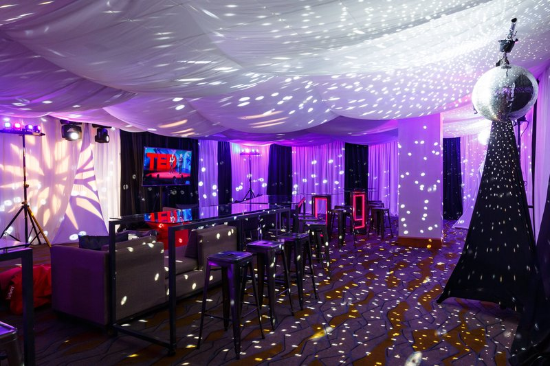 Calgary Marriott Downtown Hotel-Sunalta ABC - TED Event Setup<br/>Image from Leonardo