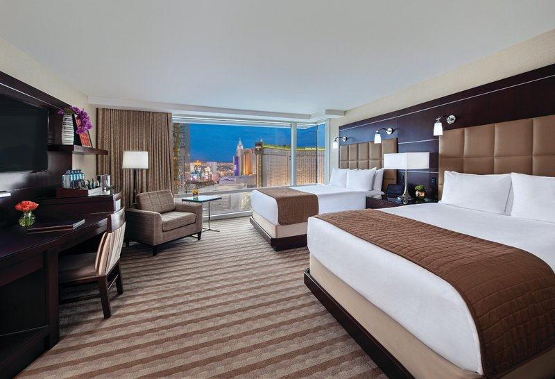 Aria Resort and Casino - Resort Club Lounge - Two Queen Room <br/>Image from Leonardo